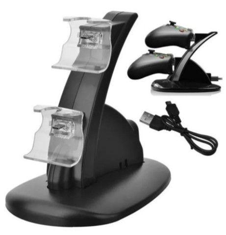 Carregador Duplo Para Controle Xbox One(s)/x Carregador - Foto 3