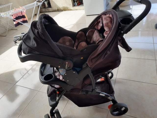 Carrinho e Bebê conforto Marca Cosco - Foto 6