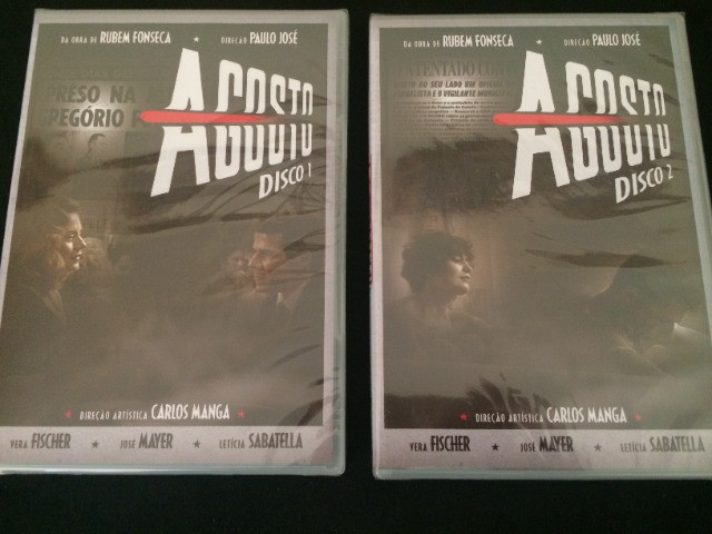DVD Minissérie Agosto - Foto 2