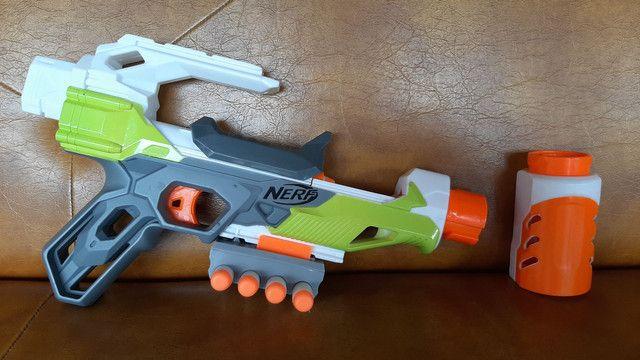 Nerf módulos com 5 dardos  - Foto 3