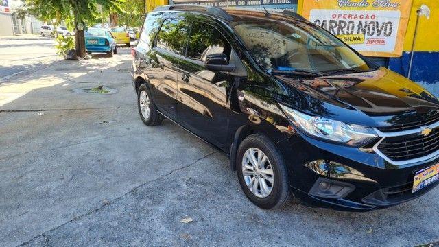 Vendo Chevrolet Spin  automático LT 2019 com Kit GNV - Foto 13