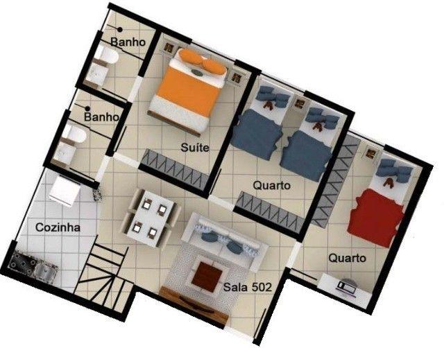 Cobertura três quartos à venda no Alto Caiçaras, Belo Horizonte com 2 vagas de garagem, el - Foto 9