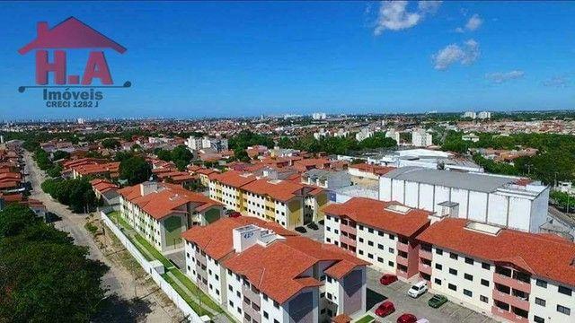 Apartamento com 3 dormitórios à venda, 63 m² por R$ 220.000 - Mondubim - Fortaleza/CE - Foto 4