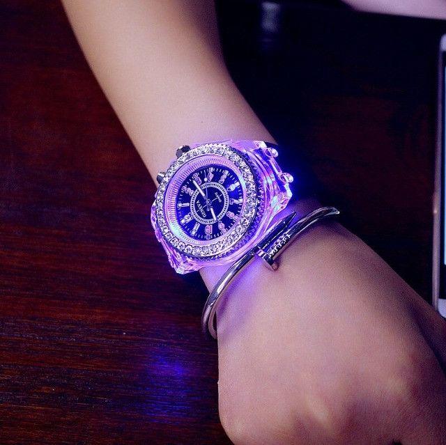 Relógio de Led Luminoso - Foto 2