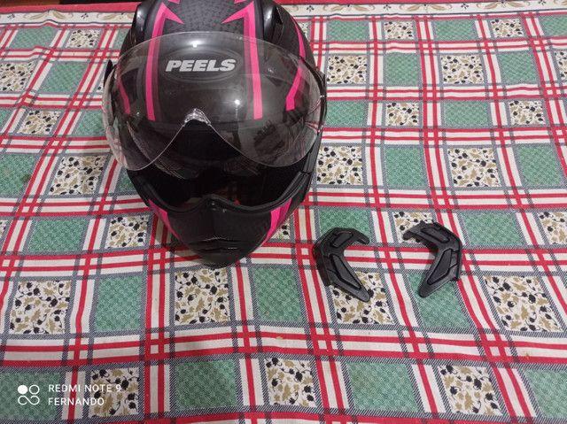Capacete peels jaqueta para motociclista - Foto 2
