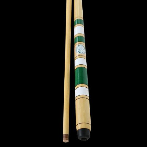 Taco Sinuca Rosca Palmeiras 1,45m +kit Giz C/capa
