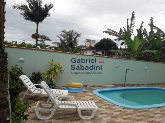 Sobrado com piscina e 4 dormitórios, 1 suítes com ar. locação diária, 135 m² por r$ 1.000, - Foto 3