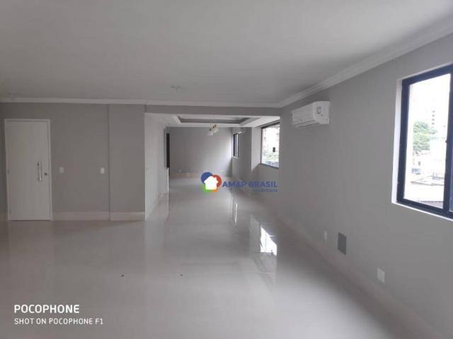 Apartamento com 4 dormitórios à venda, 270 m² por r$ 880.000,00 - setor bueno - goiânia/go