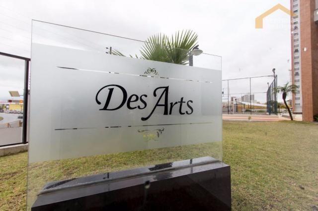 Apartamento com 3 dormitórios à venda, 166 m² por r$ 850.000,00 - condomínio des arts - ta - Foto 15