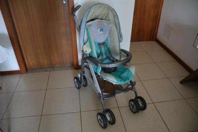 Carrinho de bebê da PegPerego + capa confortável
