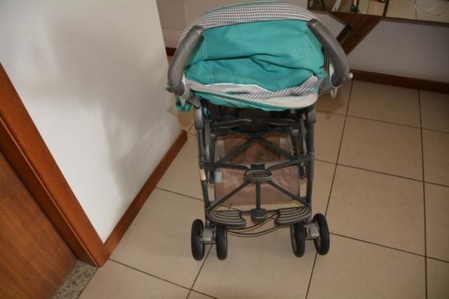 Carrinho de bebê da PegPerego + capa confortável - Foto 2