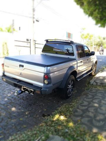 L200 outdoor 2005 4x4 diesel completa (SOMENTE VENDA) - Foto 10