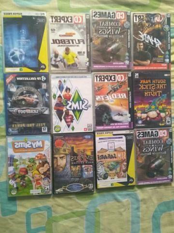 12 jogos de PC $40