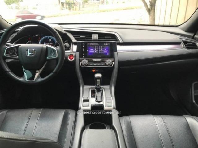 Civic 1.5 16v turbo touring cvt - 63 mil kms automático único dono - Foto 10
