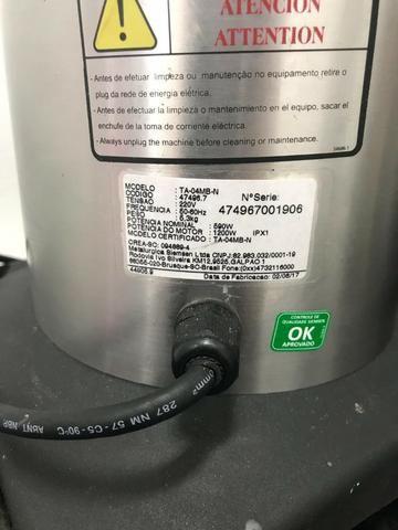 Liquidificador Skymsen inox, alta rotação, 4 litros, copo monobloco inox