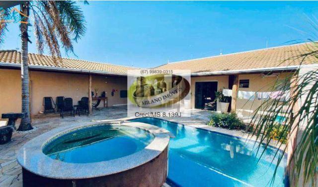 Casa à venda com 3 dormitórios em Ipê, Três lagoas cod:391