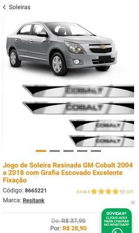 Filtro de Ar Cond + Soleiras + Adesivo Mala - Foto 2