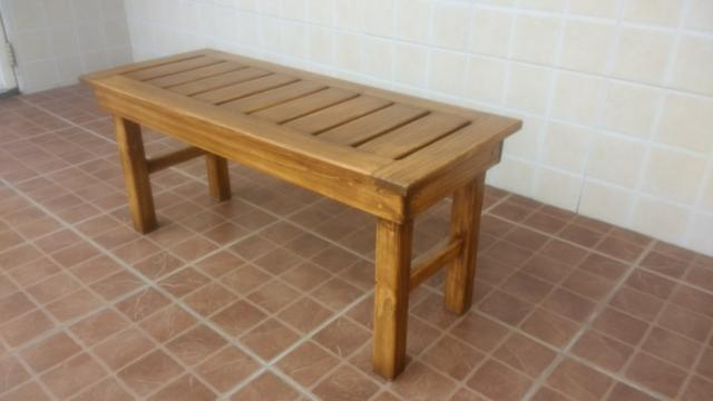 Banco de madeira maciça - Foto 4