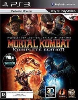 Mortal kombat komplete edition de play 3