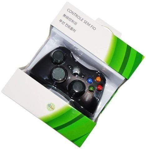 Controle xbox 360 nova