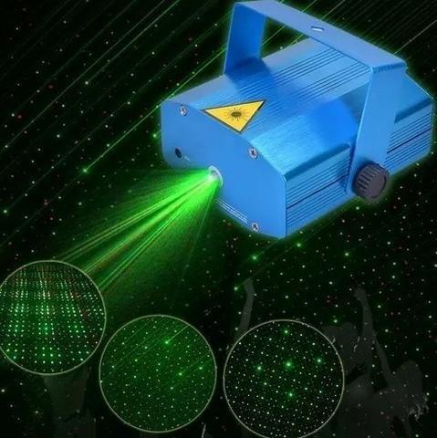 Projetor Holográfico Canhão Laser Para Festa