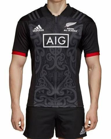 014d6827b Camiseta Rugby All Blacks Nova Zelândia Maori Original - Esportes e ...