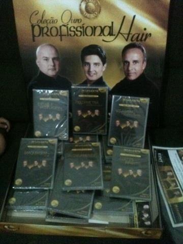 Kit completo de cabelereiro d'la lastra (Novo)