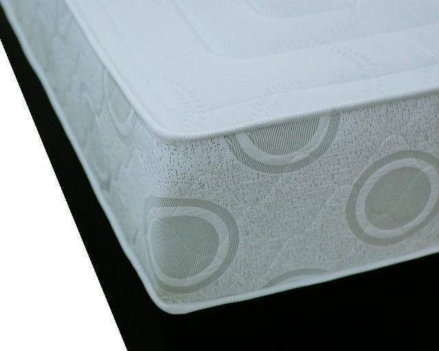 Conjunto Colchão Cancri D45 mais cama baú bipartida - casal padrão - Foto 4