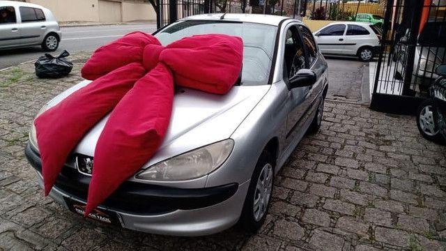 Peugeot 206 1.4 4p Completo Prata 2010 (S/ Entrada R$: 499,90) Financie Fácil - Foto 3