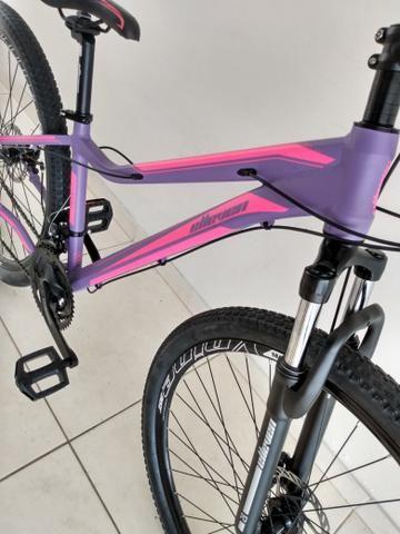 Bike 29 Feminina Tamanho 15 Shimano - Foto 3