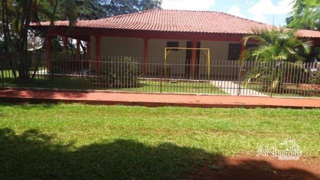 Chácara com 3 dormitórios à venda, 10.000 m² por R$ 1.100.000 - Área Urbanizada II no Anel