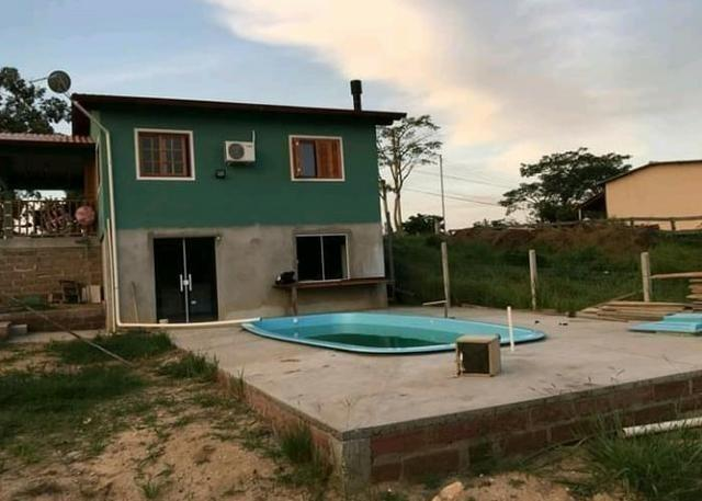 Velleda oferece casa nova, 300 metros RS040, estuda troca