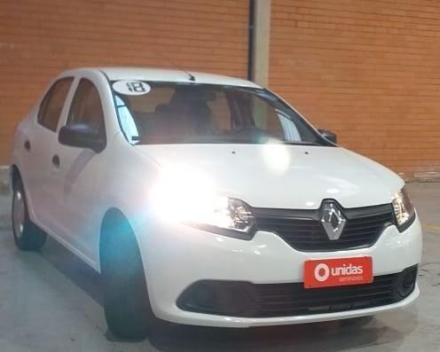 Ent+ 899,00!!!! Renault Logan Authentique ano 2018 1.0 completo!!!! - Foto 2