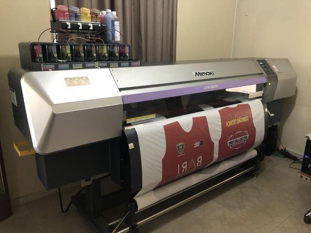 Plotter Mimaki JV5 160 Impressora Sublimação - Foto 2