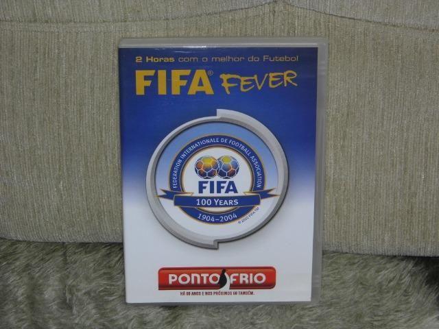 DVD 100 anos da FIFA os campeões melhores lances jogadores é de arrepiar