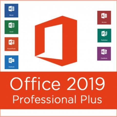 DVD Microsoft Office Professional Plus Completo 2019