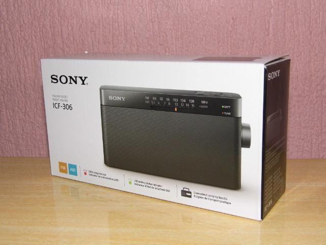 Radio Sony ICF-306 am/fm terapia para os timpanos produto novo em Poa-rs