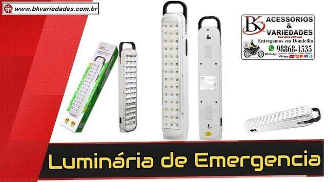 Luminária 42 Leds Luz De Emergência 2400 mAh Led-714 - (Loja BK Variedades)-Promoção - Foto 2