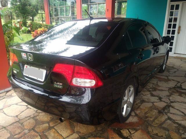 """"""" Lindo Honda Civic Lxs 1.8 Automático Flex 2009/2010 completo.'' - Foto 3"""