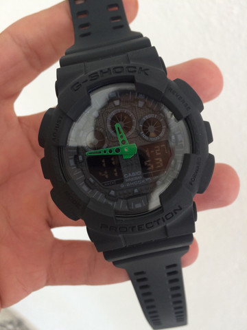 Relógio Casio G-Shock (GA-100)A prova d?água - Foto 4