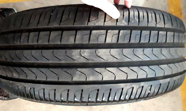 Jogo de Rodas aro 19 originais Volvo com 4 pneus Pirelli zero! - Foto 2