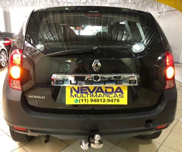Renault Duster 2012 1.6 Flex 4x2 Manual Preta Estudo Troca e Financio - Foto 5