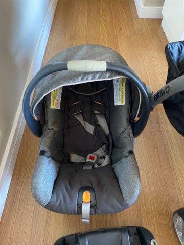 Carrinho e bebê conforto Chicco Bravo - Foto 3