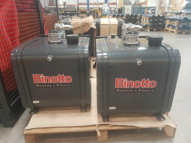 kits hidráulico caçamba piso móvel binotto truck carreta  - Foto 3