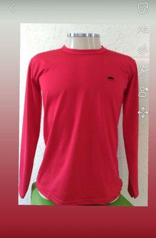 Camisa manga comprida proteção uv /térmica