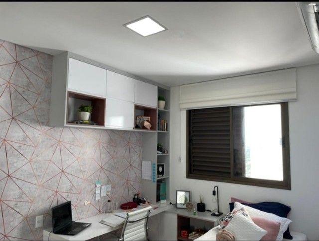 Apartamento para venda possui 182m2 4 suítes Jd das Américas - Foto 20