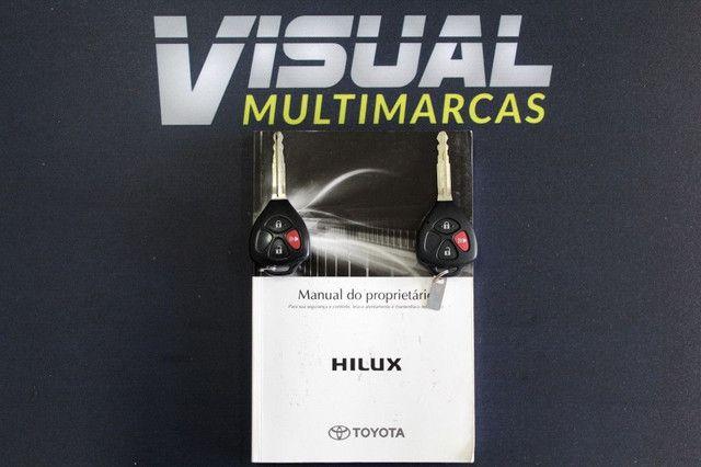Toyota Hilux SRV turbo diesel 4x4 aut. - Foto 17