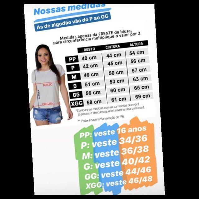 Camiseta feminina, t_shirts,XGG  - Foto 3