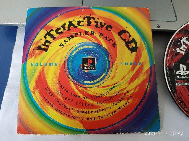 Raridade! Interactive Cd Sample Pack Volume 3 Original Playstation 1 - Foto 4