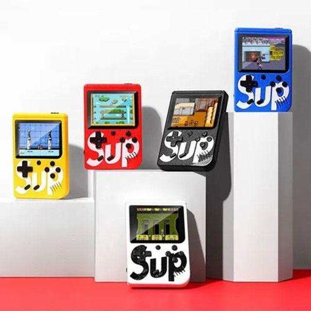 Mini Vídeo Game Portátil Boy Sup 400 Jogos Clássicos + Cabo Av<br><br>